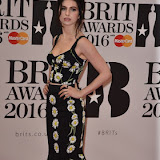 OIC - ENTSIMAGES.COM - Tali Lennox at the  The BRIT Awards 2016 (BRITs) in London 24th February 2016.  Raymond Weil's  Official Watch and  Timing Partner for the BRIT Awards. Photo Mobis Photos/OIC 0203 174 1069