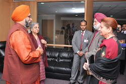 Introducing Dr Amrik Chattha and Mrs Jaswinder Kaur to Mrs Gursharan Kaur