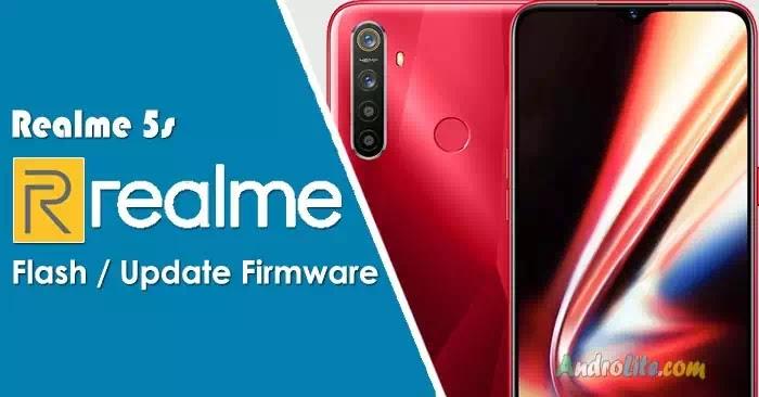 Cara Flash Firmware Realme 5s