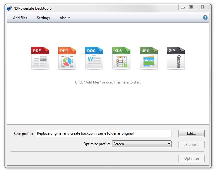 NXPowerLite Desktop 6