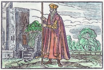Woodcut 20 From The Prognostications Of Paracelsus, Emblems Related To Alchemy