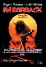 Razorback, Los colmillos del Infierno / Carátula DVD