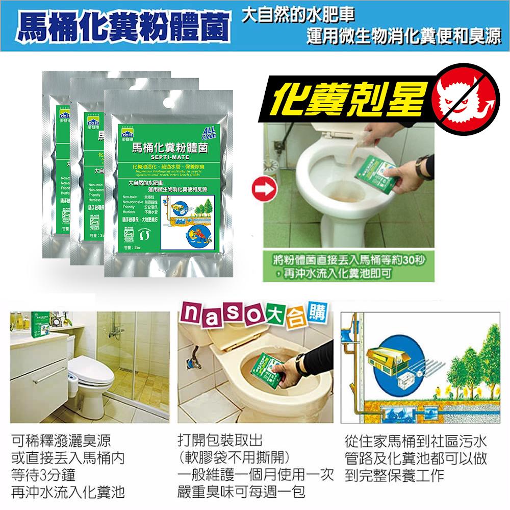 多益得年終特惠-水垢皂垢去污除霉抗菌化糞 好評第7團 - naso大合購
