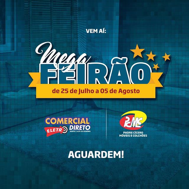 LOJA COMERCIAL ELETRO DIRETO REALIZARÁ MEGA-FEIRÃO A PARTIR DO DIA 25/07