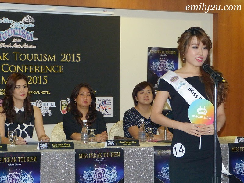 Preview: Miss Perak Tourism 2015