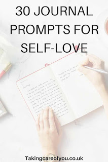 Journal ideas for self love. Start your journey of self love with these insightful journal prompts.