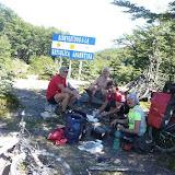dopo 15 km di sofferenza un piccolo pasco con gli amici catalani