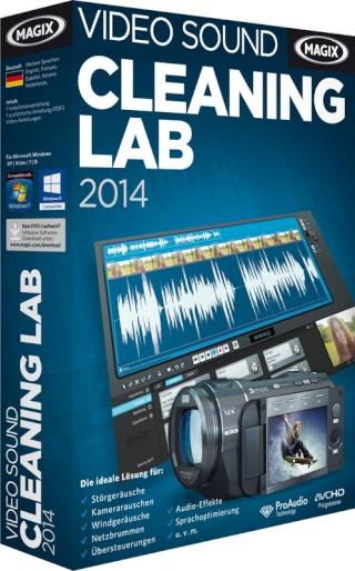 MAGIX Audio Sound Cleaning Lab 2014 20.0.0.36 [Multi] | 207 MB - Edita y optimiza tu audio