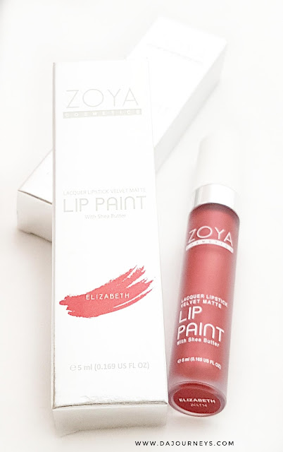 ZOYA Cosmetics New Limited Lip Paint – Metallic Series