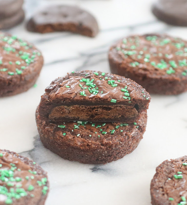 ... brownie. If you love brownies and you love Thin Mints, you should