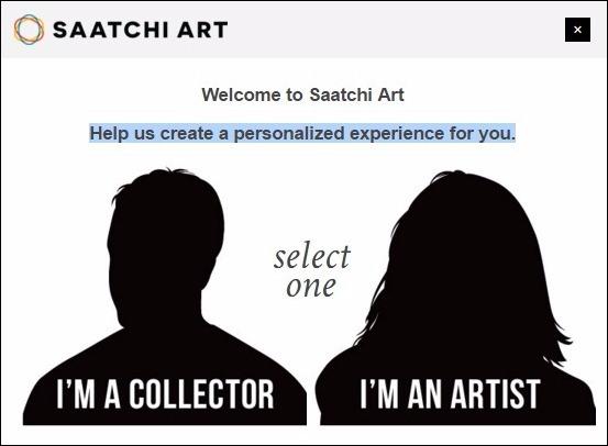 Abrir mi cuenta Saatchi Art - 468