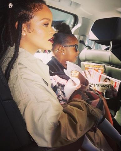Rihanna wears FENTY x PUMA on set of Ocean's 8