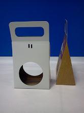Photo: Porta-Esfera - Embalagem para produtos na forma de esfera ou ovais.