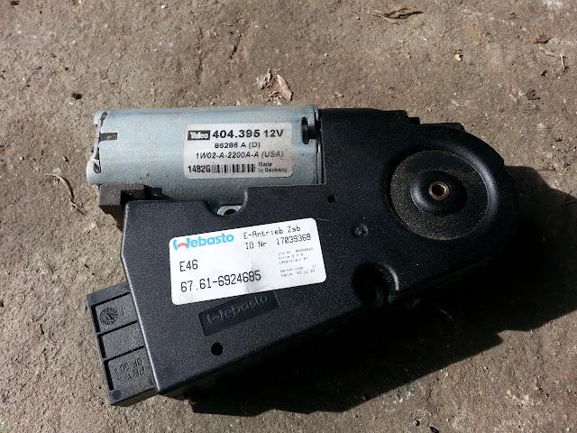 Any e46 fs e46 sunroof motor e46fanatics for Alpine motors of raleigh