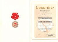 203c Medaille für ausgezeichnete Leistungen in den Kampfgruppen der Arbeiterklasse http://www.ddrmedailles.nl