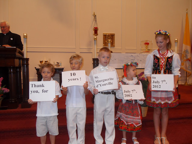 July 08, 2012 Special Anniversary Mass 7.08.2012 - 10 years of PCAAA at St. Marguerite dYouville. - SDC14198.JPG