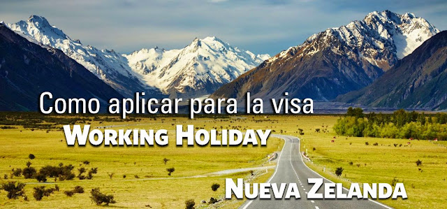 Aplicar Working Holiday Nueva Zelanda