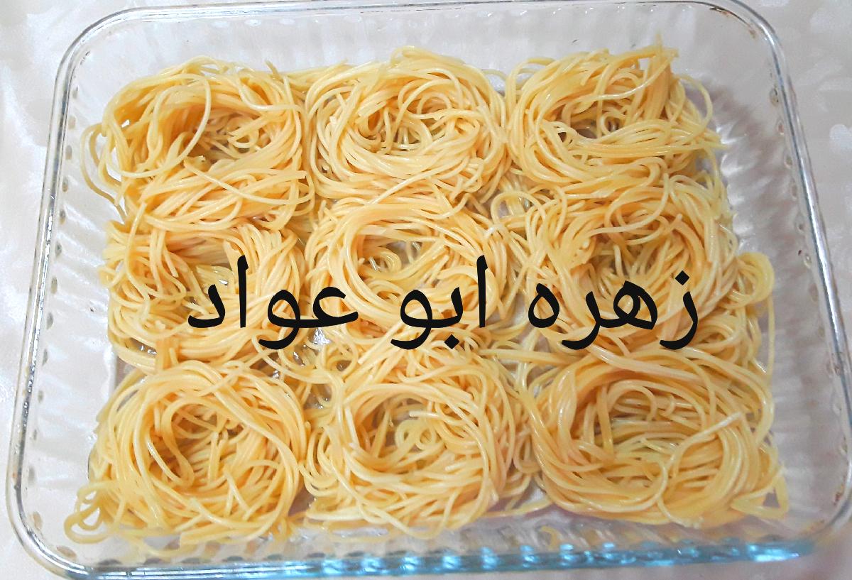 معكرونة عش البلبل بالخضار والكاري مطبخ زهره للأكل الصحي