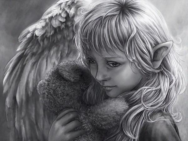 Elven Baby Angel, Angels 3