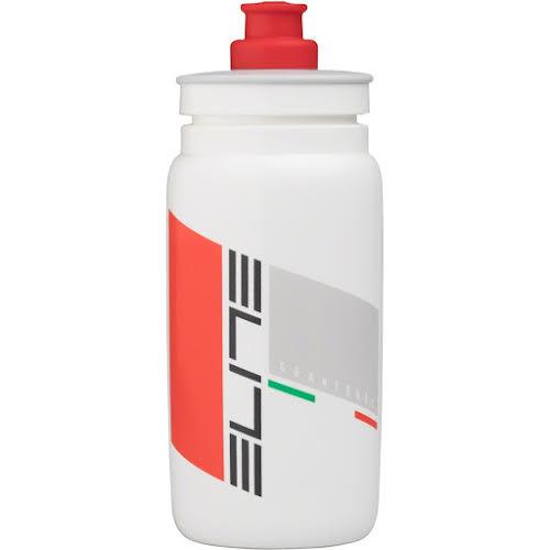 Elite SRL FLY Grandfondo Water Bottle: 16oz, White