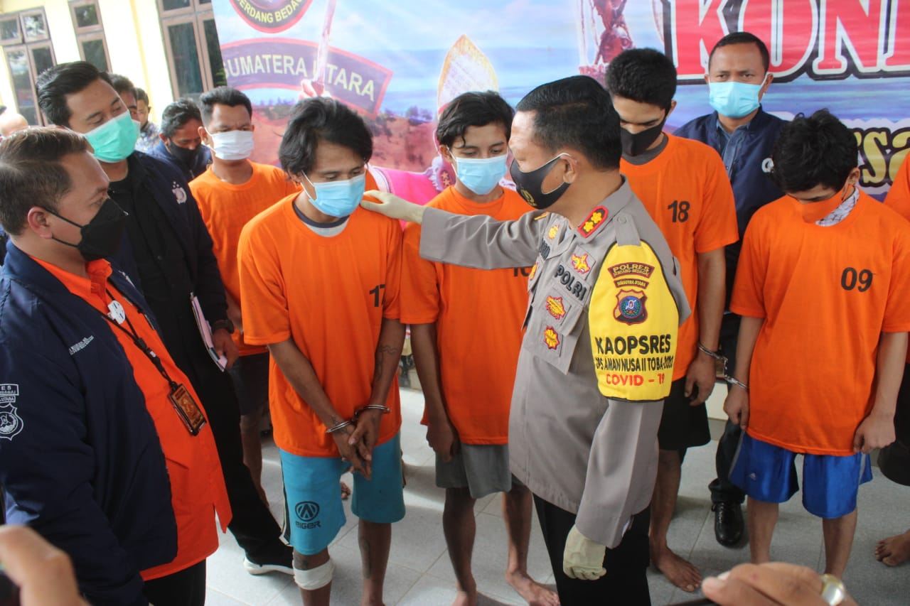 Empat Tahanan Kabur Berhasil Ditangkap Polres Sergai