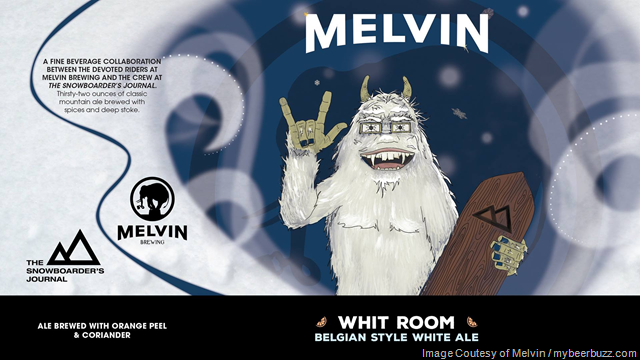 Melvin Brewing & The Snowboarders Journal Collaborate On Whit Room