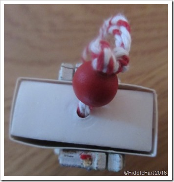 top of matchbox tree decoration. 1