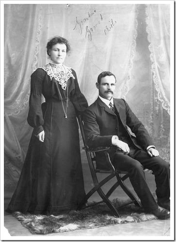 Julie Jones grandparents (Mills)