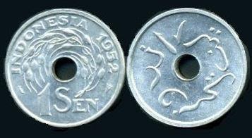 Gambar uang logam Indonesia dari masa ke masa