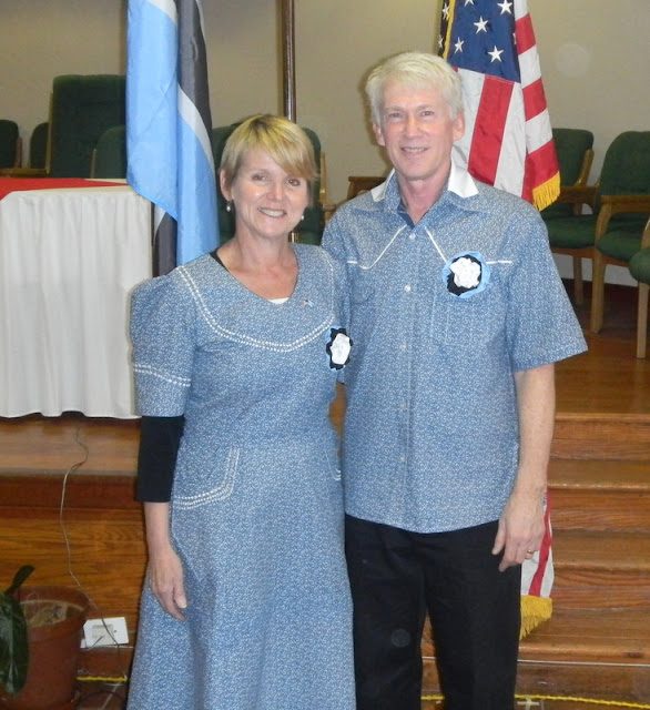 Brand new Peace Corps Volunteers