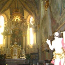 Pielgrzymka lektorów i kantorów do Sanktuarium  Matki Boskiej Pomocnej w Zlatych  Horach  (Czechy)