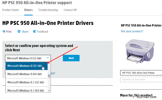 download HP PSC 1340 All-in-One Printer driver 2