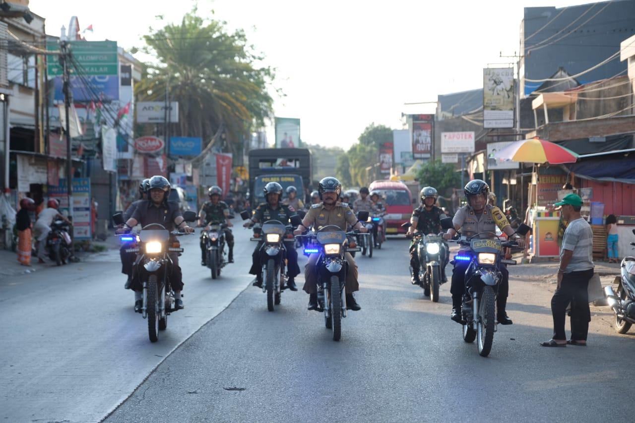 Jaga Kamtibmas di Gowa Tetap Kondusif Wabup ARM Ikut Patroli Gabungan