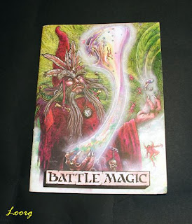 Portada del libro Battle Magic de la 2ª Edición de Warhammer Fantasy Battle