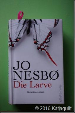 Jo Nesbo - die Larve - klein