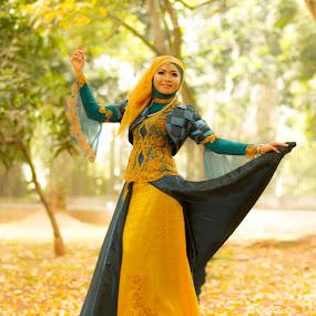 Spring Waltz by Hendra Sulistyawan - People Portraits of Women