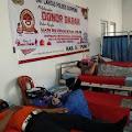 Wujud Polri Presisi, Satlantas Polres Soppeng Gelar Donor Darah Sambut HUT Bhayangkara ke - 75