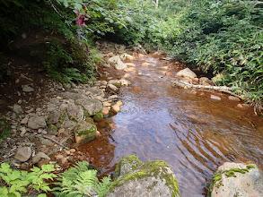 Photo: 斜里岳 水が茶色い
