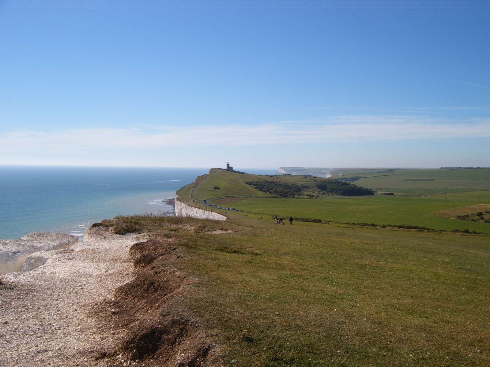 Lighthouse from Beachy Head