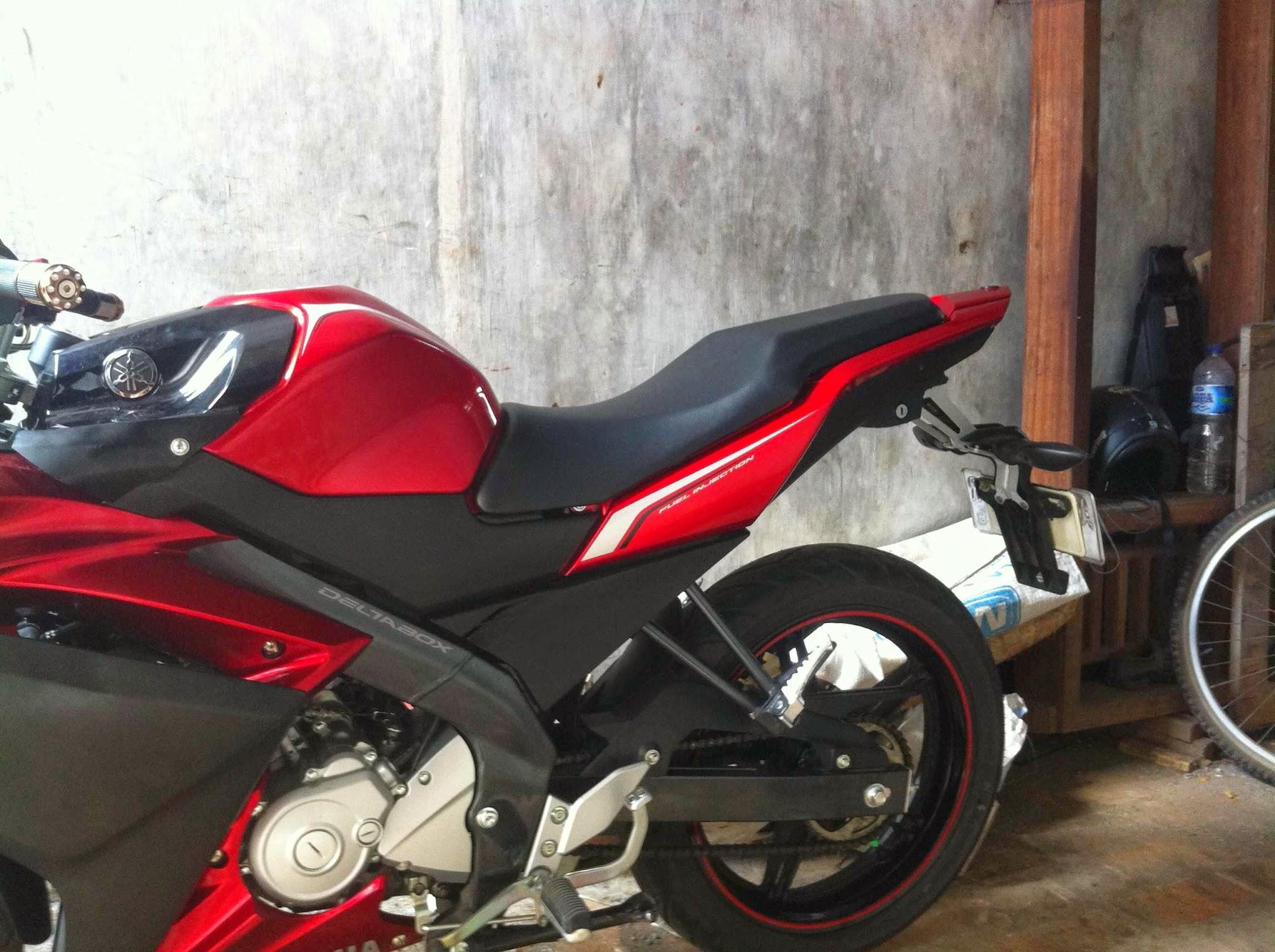 Modifikasi Stang Motor Yamaha Vixion