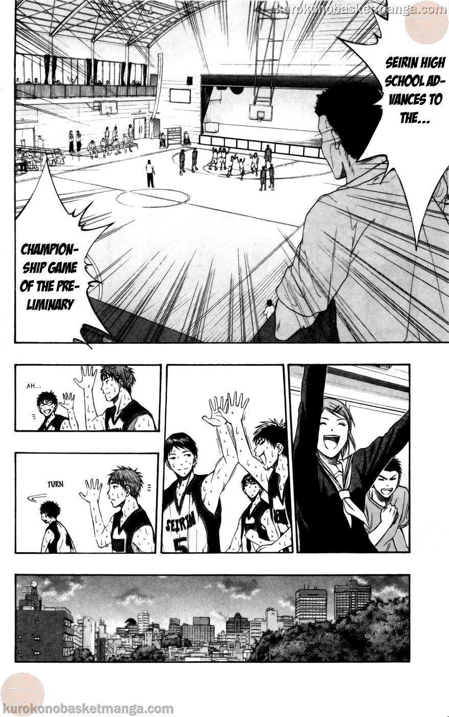 Kuroko no Basket Manga Chapter 98 - Image 04