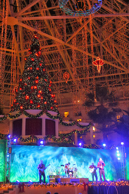 Experience Christmas at Gaylord Palms