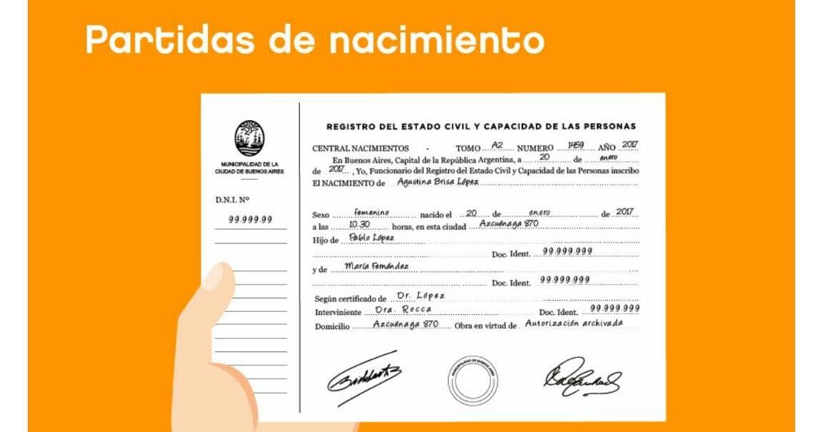 Moderno Cómo Aplicar Certificado De Nacimiento Modelo - Cómo ...