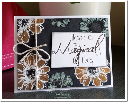using daisy days stamps 2