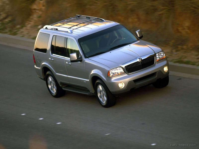 2004 lincoln aviator suv specifications pictures prices. Black Bedroom Furniture Sets. Home Design Ideas