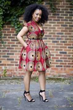 c5f625f90 Lovely   latest kitenge dresses designs - Styles 7