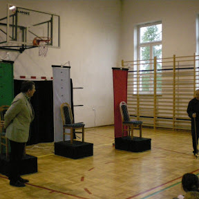 Teatr w naszej szkole - październik 2008
