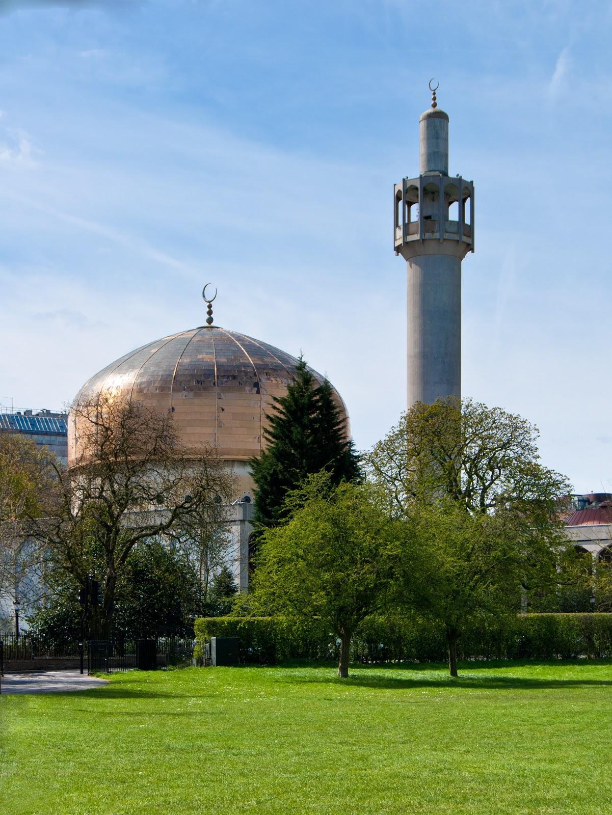 Rindu Masjid Masjid Sentral London London Central Mosque Inggris