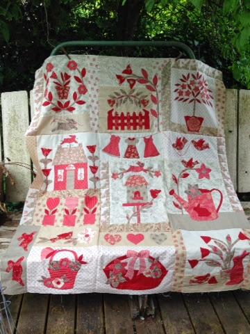 Le Jardin Quilt Pattern - Quilts Ideas : le jardin quilt pattern - Adamdwight.com