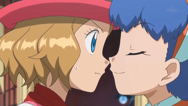 serena and miette kiss
